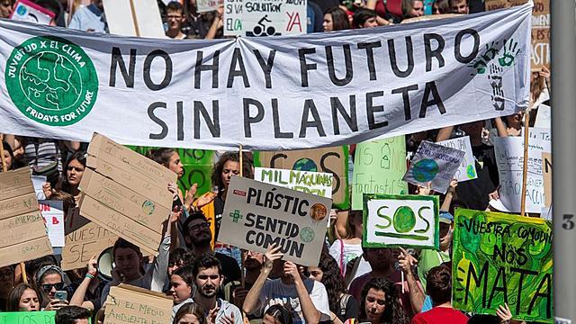 Protesta contra el canvi climàtic
