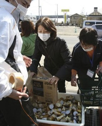 In Pics: Millions starve as Japan digs for the dead