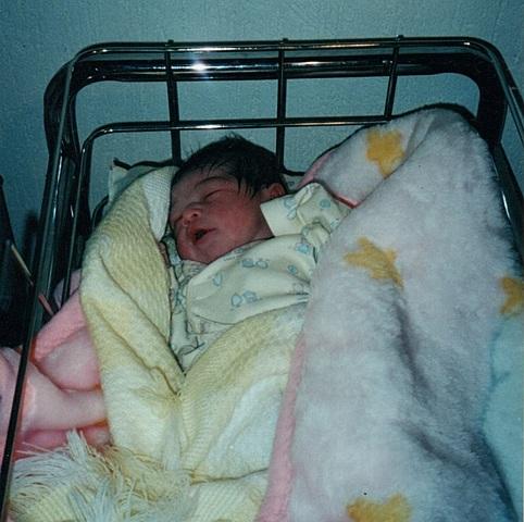 Nacio mi primera hermana