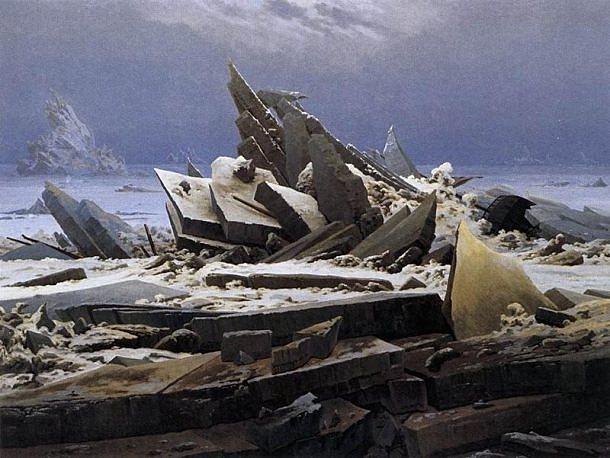 El mar de hielo | Caspar David Friedrich