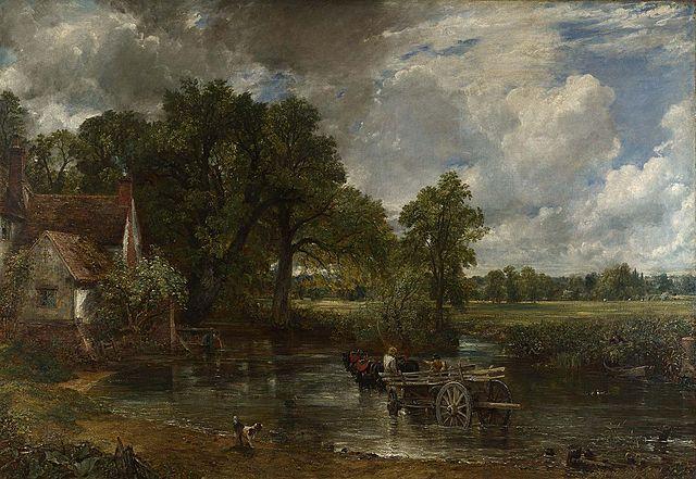 El carro de heno | John Constable