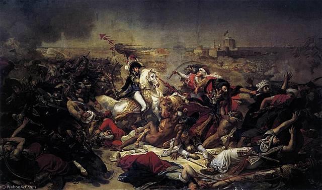La Batalla de Abukir | Antoine-Jean Gros