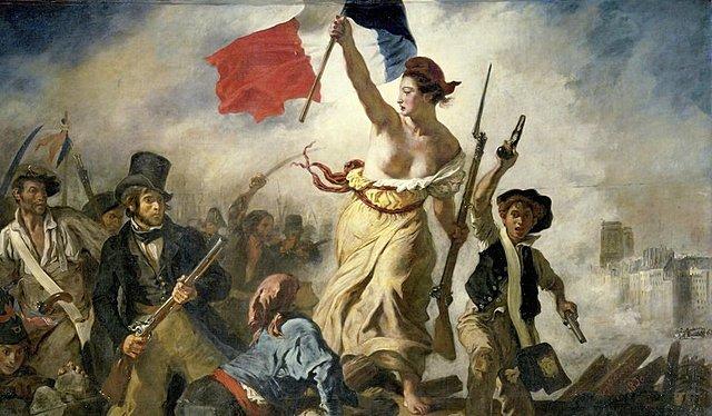 La Libertad Guiando al Pueblo | Eugène Delacroix