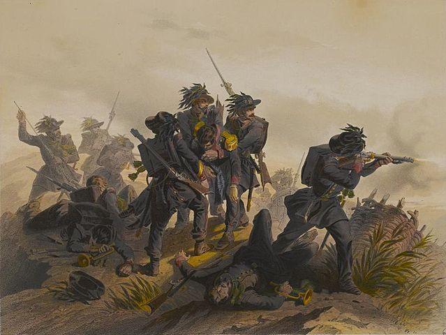 Sconfitta dell'esercito piemontese a Custoza