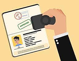 Data system for visa entry