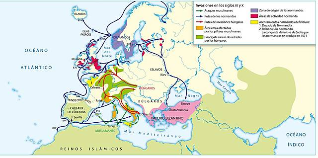 Invasiones Normandas
