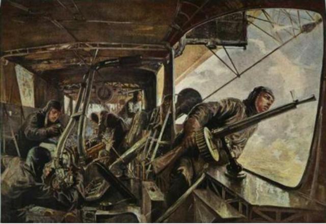 The Zeppelin Raid on Great Britain