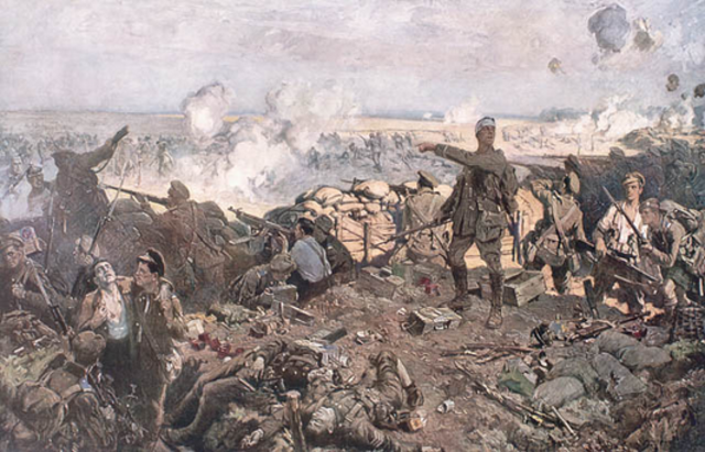 Start of The Second Battle of Ypres