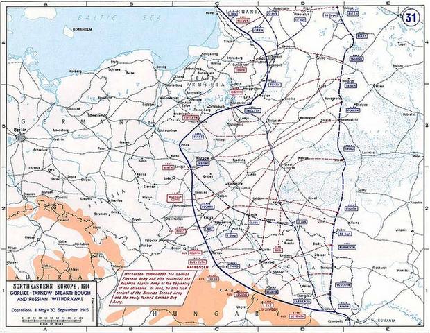 Gorlice-Tarnów Offensive