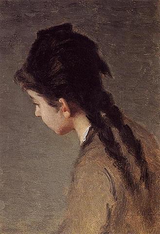 Portrait of Jeanne Gonzalez in Profile