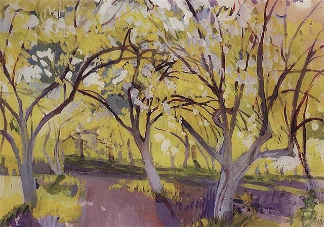 Orchard in Bloom, Neskuchnoye
