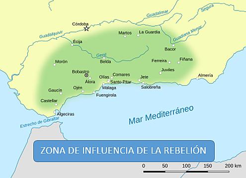 Rebelión de los Muladíes Andalusíes