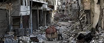 Inici de la guerra de Síria.
