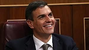 S'escull Pedro Sànchez com a president del govern d'Espanya.