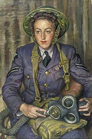 Corporal J.M Robins, Woman´s Auxiliary Air Force