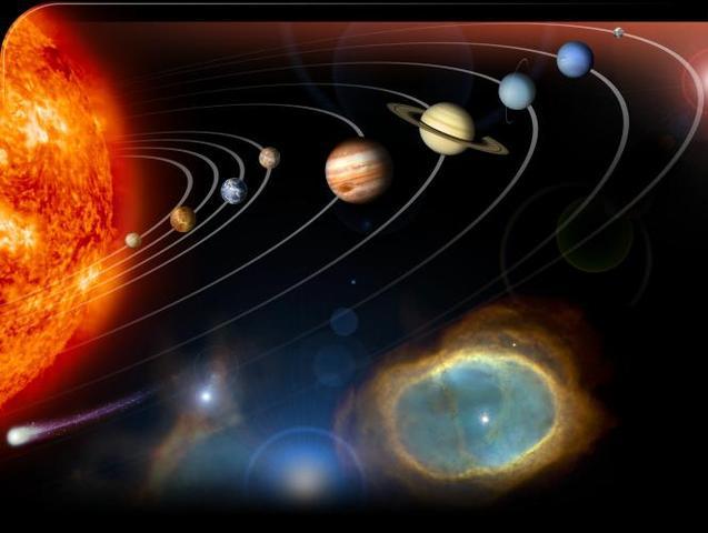 (5 BYA) Formation of the Solar Sysytem