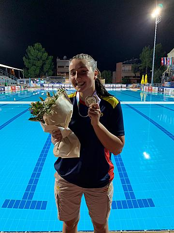 La cosina de Xavi Ana guanya el campeonat d'Europa de waterpolo.