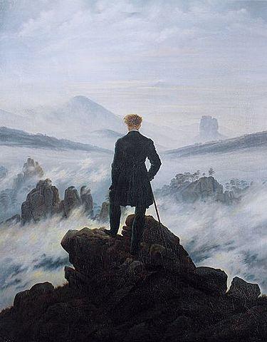 SCHINKEL - El caminante sobre el mar de nubes