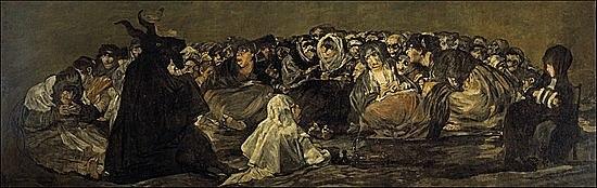 El aquelarre - Goya