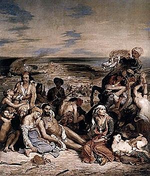 La matanza de Quíos - Delacroix