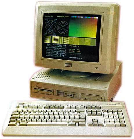 Cuarta generación de computadoras: El 386