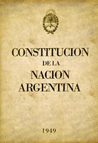 Sanción de la Constitución nacional