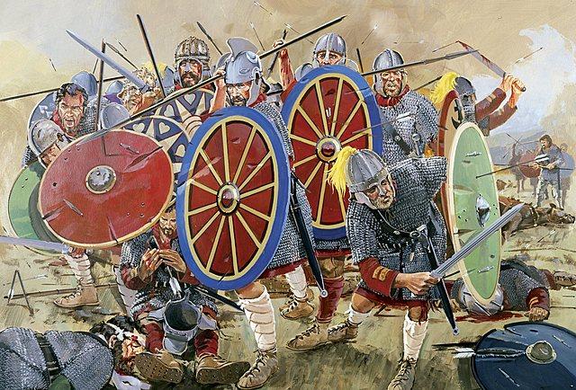 Los  visigodos y la batalla de  Andrinópolis