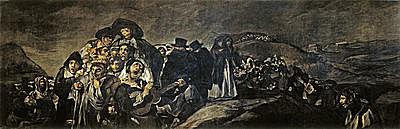 La romería de San Isidro | Francisco de Goya