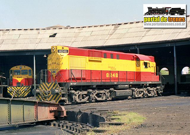 Primera locomotora Diesel-eléctrica en EEUU