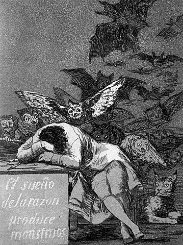 Caprichos (n· 43) de Goya