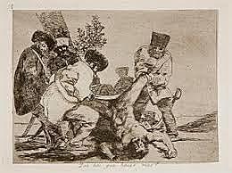 Los desastres de la guerra de Goya