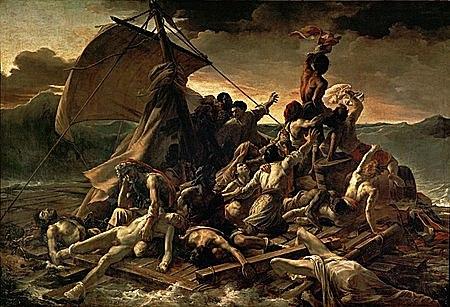 La balsa de la Medusa de Théodore Géricault