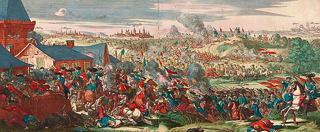 Victòria aliada a la batalla d'Almenar