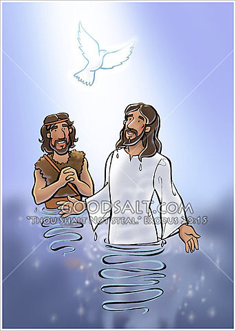 The Baptism and Anointing of Jesus
