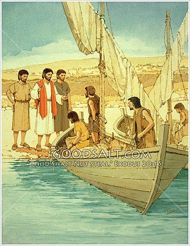 Jesus Calls his First Disciples