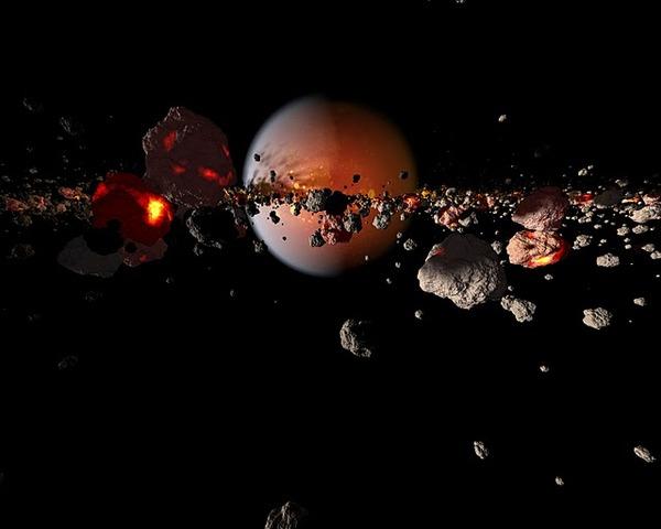 (4.6 BYA) Earth begins to form