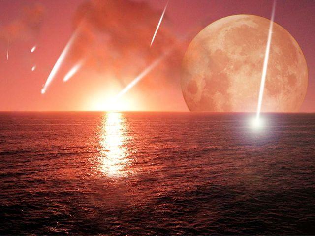 (4.6 BYA) Earth Began Forming