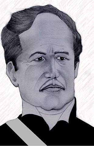 Francisco ferrera soladado de Morazán