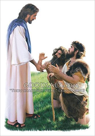 Jesus Restores Two Demon-possesed Men