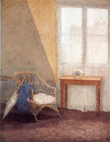 A Corner of the Artist's Room, Paris