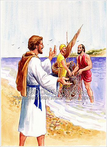 The Calling of Peter