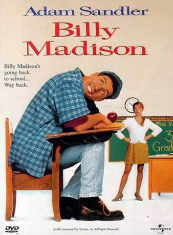 Adam is the Star of Billy Madison