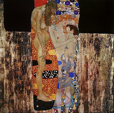 ''Les 3 edats de la dona'', Gustav Kilmt