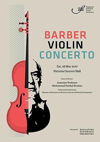''Concert per violí i Orquestra'', Samuel Barber