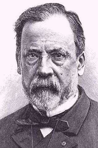 1864, Louis Poster expiriments