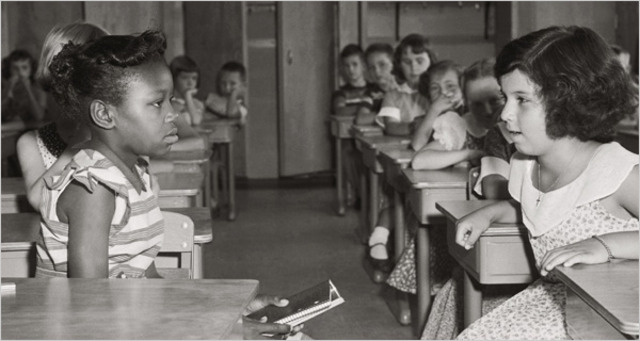 Brown v. Board of Education Of Topeka, Kansas.