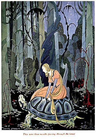 Blondine-Old French Fairy Tales