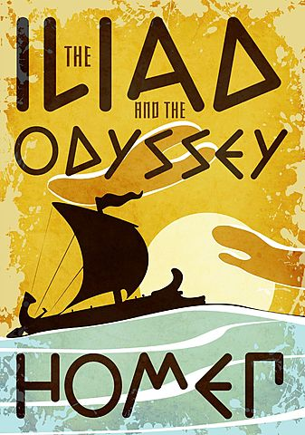 Greece: Homer composes the Iliad and the Odyssey