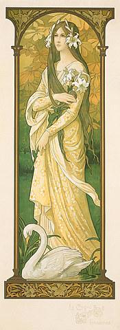 """Le Cygne; Innocence (""""The Innocent Swan"""")"""