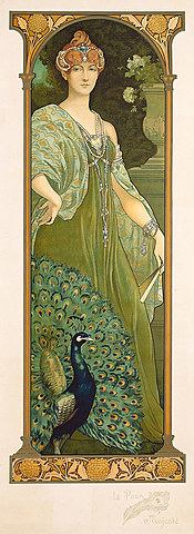 "Le Paon; Majeste (""The Majestic Peacock"